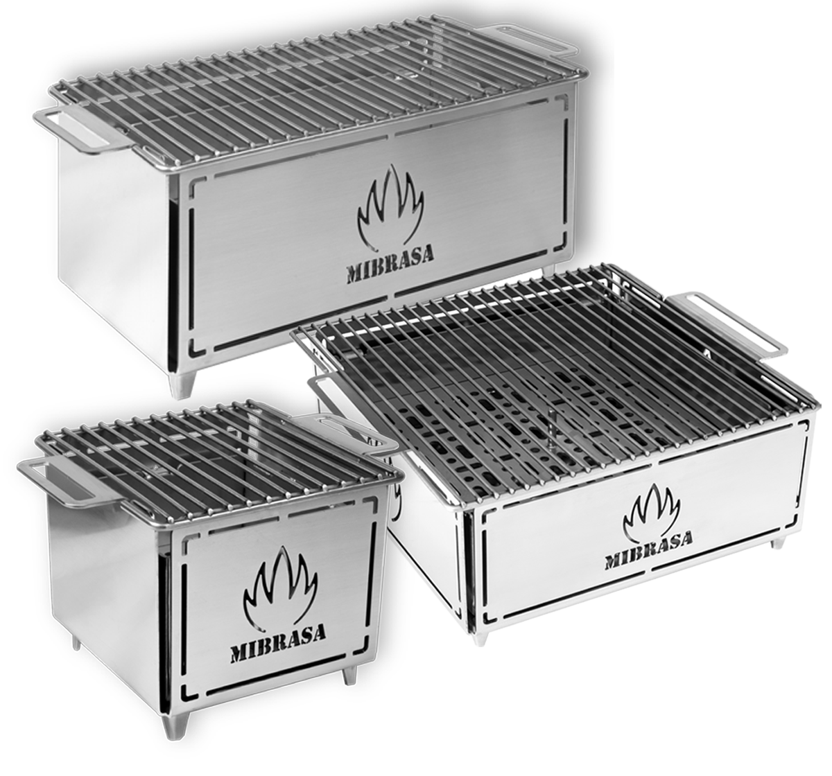 MIBRASA Hibachi is een draagbare mini grill